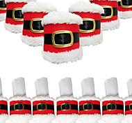 4шт рождества пряжки ремня салфетку кольцо