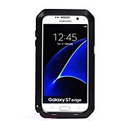 Для Вода / Грязь / Надежная защита от повреждений Кейс для Чехол Кейс для Один цвет Твердый Металл для SamsungS7 edge / S7 / S6 edge plus
