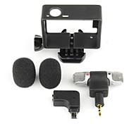 Accessories For GoPro,MicrophoneFor-Action Camera,Gopro Hero 4 Universal