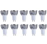 5W GU10 Focos LED 4 COB 500 lm Blanco Cálido / Blanco Fresco Regulable AC 100-240 / AC 110-130 V 10 piezas