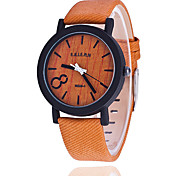 XU Men Fashion Wood Grain Restoring Ancient Ways Watch