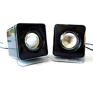 D02B  Hot Computer Mini Speaker Stereo Portable Notebook Desktop Laptop USB Speakers