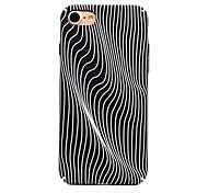 Per Fosforescente / Fantasia/disegno Custodia Custodia posteriore Custodia Con onde Resistente PC per AppleiPhone 7 Plus / iPhone 7 /