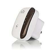 Wireless WiFi Repeater Signal Amplifier 802.11N/B/G Wi-fi Range Extander 300Mbps Signal Boosters Repetidor Wifi Wps-US