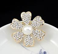 попка европы мая классический натуральный жемчуг алмаз полые камелии корсаж
