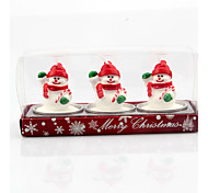3PCS Christmas ornaments for Christmas table decoration