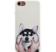 Per Fantasia/disegno Custodia Custodia posteriore Custodia Con cagnolino Resistente PC per AppleiPhone 7 Plus / iPhone 7 / iPhone 6s