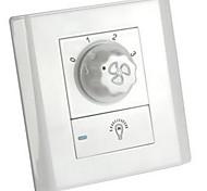 86 Тип управления частотой вращения настенный выключатель выключатель вентилятора лампы стены