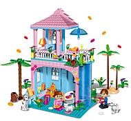 Blocs de Construction / Maison de Poupées Pour cadeau Blocs de Construction Maquette & Jeu de Construction Maison / Architecture ABS5 à 7