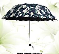 Черный Складные зонты Солнечный и дождливой Plastic Аксессуары на коляску