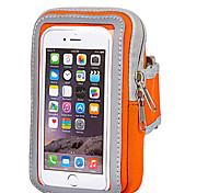For Apple Samsung Xiaomi Huawei and other cell phone (5.5 inch below) Waist Belt Bag Wallet Pouch Purse Phone Case with Zipper