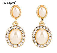 Brand New Arrival Classic Fashion Alloy Imitation Pearl Drop Earring For Ladies ER119707