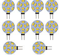 3W G4 Luci LED Bi-pin Tubolare 9 SMD 5730 210 lm Luce fredda V 10 pezzi