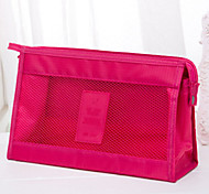 Makeup Storage Cosmetic Bag / Makeup Storage Nylon Solid 24*3.5*17 Rose