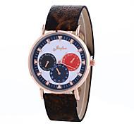 Women's Fashion Watch Wrist watch Quartz PU Band Vintage Casual Black Brown Navy Black Dark Blue Coffee Brown Brown/Gold