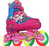 Детские Роликовые коньки Anti-Shake Дышащий Регулируется Защитный ABEC-7 - Лиловый/Синий/Розовый