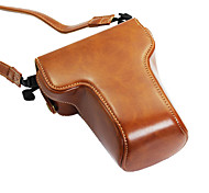 Dengpin PU Leather Camera Case Bag Cover for Fujifilm X-A3 16-50/18-55mm Lens (Assorted Colors)