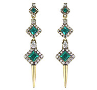 Elegant Beautiful Rhinestone Hanging Drop Earrings