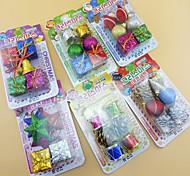 6Pcs/set Christmas Decorations Light kit Supplies Fine Decoration Christmas Activities