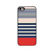 Stripe Design Aluminum Hard Case for iPhone 5/5S
