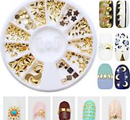 190pcs/Box Mix 12 Style Nail Art Decoration Rhinestone Pearls Makeup Cosmetic Nail Art Design