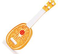 ORANGE CHILDREN CARTOON FRUIT GUITAR/ Plastic/ Outdoor Toy /Music Toy