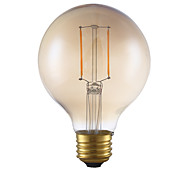 2W E26 LED Filament Bulbs G25 2 COB 180 lm Warm White Dimmable 120V 1 pcs