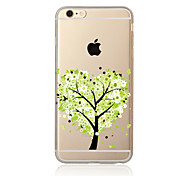 Color tree Pattern TPU Soft Case Cover for Apple iPhone 7 7 Plus iPhone 6 6 Plus iPhone 5 SE 5C iPhone 4