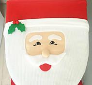 Papai Noel olhos de peixe higiênico tampa 43 * 33 centímetros