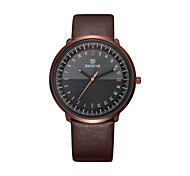 SKONE Brand Round Ultra Thin Men's Watch Import Quartz Movement Simple Vintage Men Watch