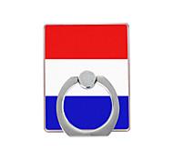 Голландский флаг картины пластиковый держатель кольца / 360 вращающийся для мобильного телефона iphone 8 7 samsung galaxy s8 s7