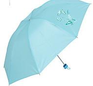 Blue / Pink Rain shoes Sunny and Rainy Plastic Travel