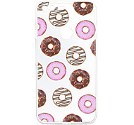 For Google Pixel XL Case Cover Doughnut Pattern Back Cover Soft TPU for Google Pixel