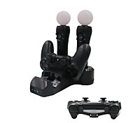 4 in 1 Ladestation für PS4-Game-Controller / ps move / ps vr Controller