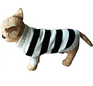 Dog Sweater Dog Clothes Casual/Daily Stripe