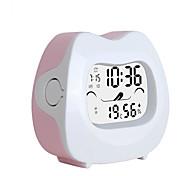 1PC Smart Clock Mute Elf Creative Children Cartoon Alarm Clock Electronic Clock Intelligent Luminous
