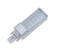 G24 9W White / Warm White 28x5630SMD LED 750-850LM  3000K 6000K Plug Light Corn Bulbs AC85-265V