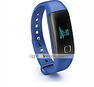 Aceaide HR08 Heart Bracelet Intelligent Sleep Heart Rate Pedometer Precise Black Red Blue Orange
