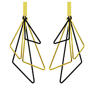 New Designs Hanging Geometric Triangle Earrings for Women