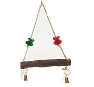Portable Brown Bird Toys1PC