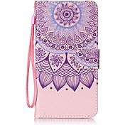 Per wiko lenny 3 lenny 2 portafoglio con portafoglio con telaio flip modello cassa pieno corpo floreale fiore hard pu per wiko febbre 4g