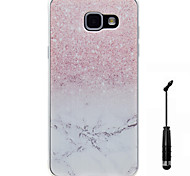 For Samsung Galaxy A5(2016) A3(2016) Case Cover Marble Pattern Super Soft Painting TPU Material Phone Case  Touch Screen Pen