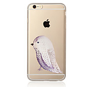 A bird Pattern TPU Soft Case Cover for Apple iPhone 7 7 Plus iPhone 6 6 Plus iPhone 5 SE 5C iPhone 4
