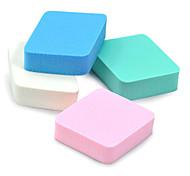 4pcs Diamond Powder Puff/Beauty Blender Natural Sponges Makeup Tool