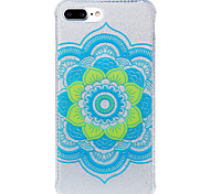 Para IMD / Diseños Funda Cubierta Trasera Funda Mandala Suave TPU AppleiPhone 7 Plus / iPhone 7 / iPhone 6s Plus/6 Plus / iPhone 6s/6 /