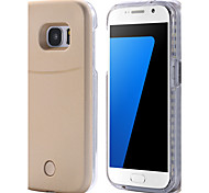 for Samsung Galaxy S7 edge S7 LED Case Bright Flash Light UP LED Selfie Back Case S6 edge S6 edge plus