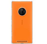 Für Nokia Hülle Transparent Hülle Rückseitenabdeckung Hülle Einheitliche Farbe Hart PC Nokia Nokia Lumia 830