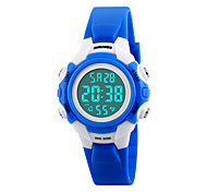 Skmei®Children Fashion LED Digital Casual Wrist Watch PU Strap Assorted Colors