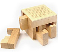 Blocco Ming Kong Quadrata Legno Beige Per bambini Per bambine Da 5 a 7 anni Da 8 a 13 anni 14 Anni e oltre