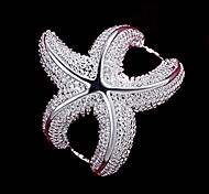 Женский Массивные кольца бижутерия Стерлинговое серебро Бижутерия Назначение Свадьба Для вечеринок Повседневные